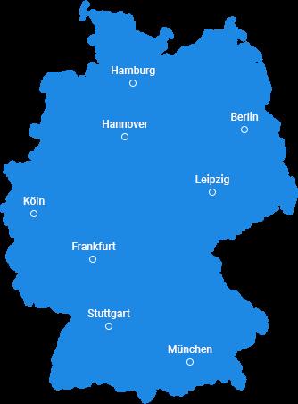 ImmoControlling ist deutschlandweit aktiv